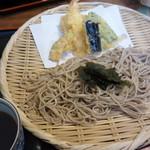 嘉司屋 - 料理写真:天もり蕎麦
