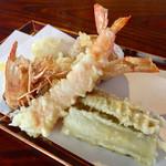 きなり - 素材の味を楽しむ サックリ 天ぷら (◦ >﹏<。)~♡