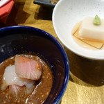 darumakiwami - 胡麻豆腐と漬け