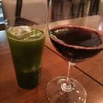 ビストロカフェ グラポン - 赤ワインと酵素緑茶