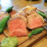 67443025 - 熟成豚の肩ロース オーブン焼き  (コース/4名分)