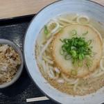 博多うどん よかよか - 丸天うどん・柔麺