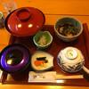 Isshin - 料理写真:運ばれてきた鯛めしセット