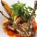ル・セルクル - 毎日仕入れる新鮮な魚介類