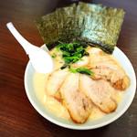 横浜家系ラーメン 魂心家 - チャーシュー麺930円