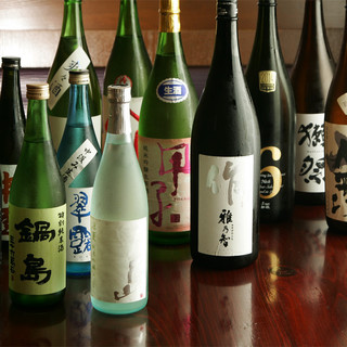 千葉の地酒ほか、厳選した全国の銘酒をお楽しみください。