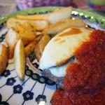 N9Y - 茄子のチーズハンバーグランチ