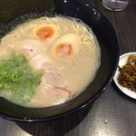 久留米ラーメンふくの家 - 料理写真:ラー麦 らーめん=500円