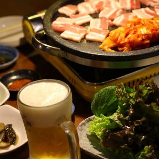 本場韓国の味をお腹いっぱい食べるならお得なコースで