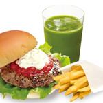 the 3rd Burger - スムージー&ポテトセット
