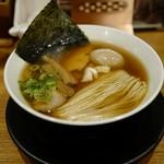 麺や食堂 - 味玉そば780円