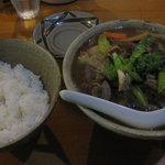 唐変木 - イシチ汁定食