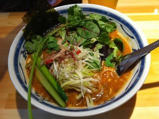 瀬佐味亭 虎ノ門店 - 金の坦坦麺 1,000円
