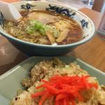 お食事の店 すず - ラーメン350円 チャーハン400円
