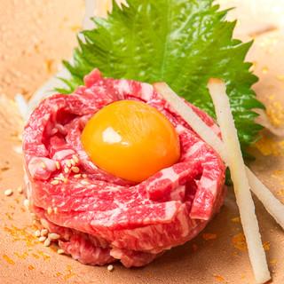 【数量限定】名古屋初の公認ユッケ、ご予約はお早めに!