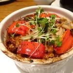 新和食 到 - 生麩と野菜の塩辛バターオーブン焼