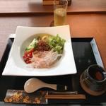 udondyayatsudura - 冷やし坦々うどん。             税込980円。             美味し。