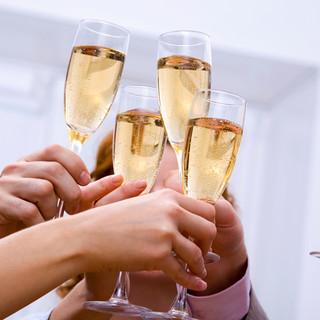 お得なパーティプランで乾杯!