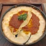 cafe 福座 - グラタンチーズたっぷりです。