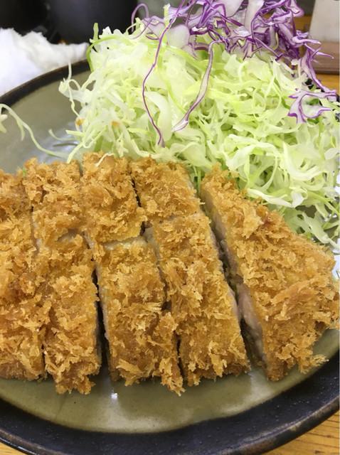 とんかつ豊 - ロースカツ定食