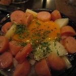 湘南の魚とワインの店 ヒラツカ - チョリソとじゃがいものチャプチャプ