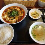 67470174 - 本日のランチ 麻婆豆腐(四川風麻婆豆腐・辛め) 970円