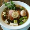 麺麓menroku - 料理写真:【鴨出汁そば + 味玉】¥780 + ¥130