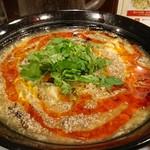 中華あんかけ工房 東陽閣 - 酸辣湯麺