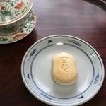 空也 - 波佐見焼の皿と明の蓋碗の写し