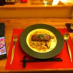 Dining Restaurant Ete' - ビーフ&ガーリックピラフ