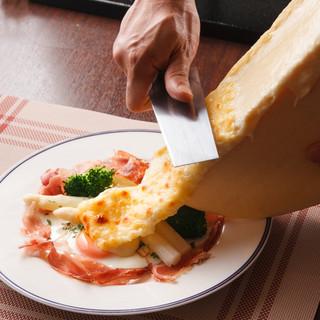 ♢♦食べるべき一品♦♢『ラクレットのチーズオーブン焼き』