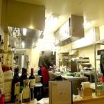 Dining Restaurant Ete' - 厨房が目の前に見えます
