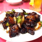 中華料理 愛福楼 - 黒豚酢豚