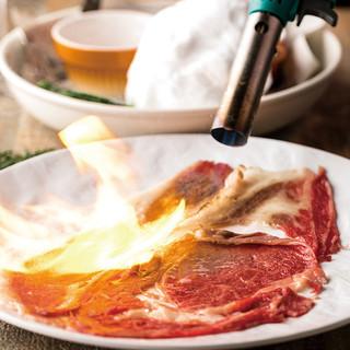 【インスタ映え】A3和牛の炙り肉