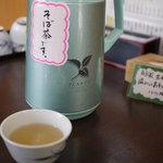 八右ヱ門 - そば茶