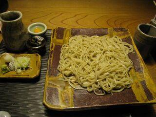 九つ井 玉川店 - 蕎麦が来ました。