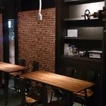 テクノロジーカフェ シンギュラリティ - テーブル席