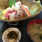 右京 - ランチ海鮮丼セット