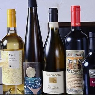 ◆メニューに合った高品質&良コスパなワインをセレクト