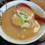 柳ばし - 豚汁(小) 250円