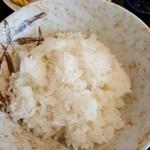 柳ばし - ライス(小) 130円