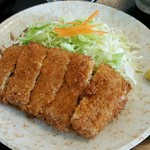 柳ばし - メンチかつ定食 870円