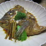 鯛ふじ - 鯛かぶと煮