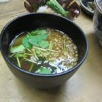 鯛ふじ - お味噌汁