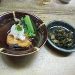 鯛ふじ - 小鉢 & 香の物