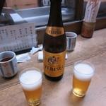 鯛ふじ - ヱビスビール(中瓶)700円