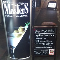 Bar Masters - こちらの看板が目印です。