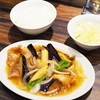 珉珉 - 料理写真:日替りAセット(ナスと豚ロースのうま煮)