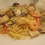 イタリア料理屋 タント ドマーニ - クリームパスタ