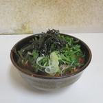 新月 - 山菜そば(大盛)